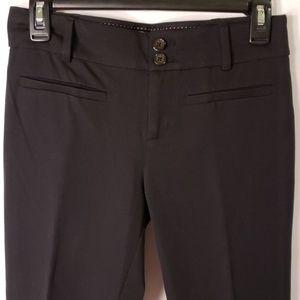 Anthropologie the essential slim Black Pants